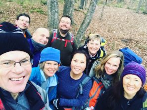 Hiking with members of the Catskill 3500 Club